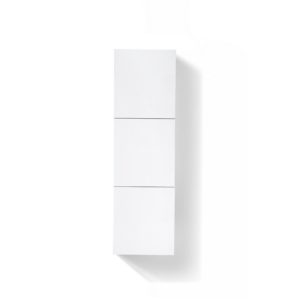 Seamus 17.75 W x 59.1 H Wall Mounted Cabinet by Wade Logan