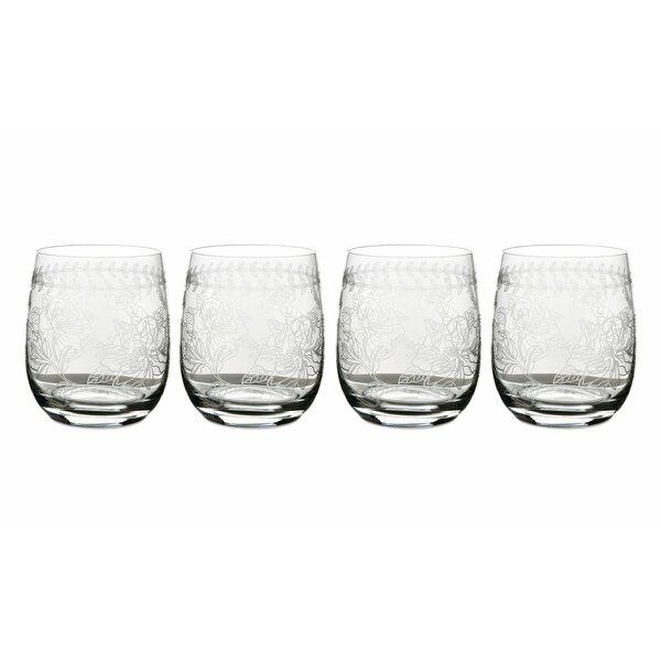 Botanic Garden 12 oz. Glass Cocktail Glass (Set of 4) by Portmeirion