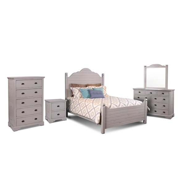 Ragnar Queen Panel 5 Piece Bedroom Set by August Grove