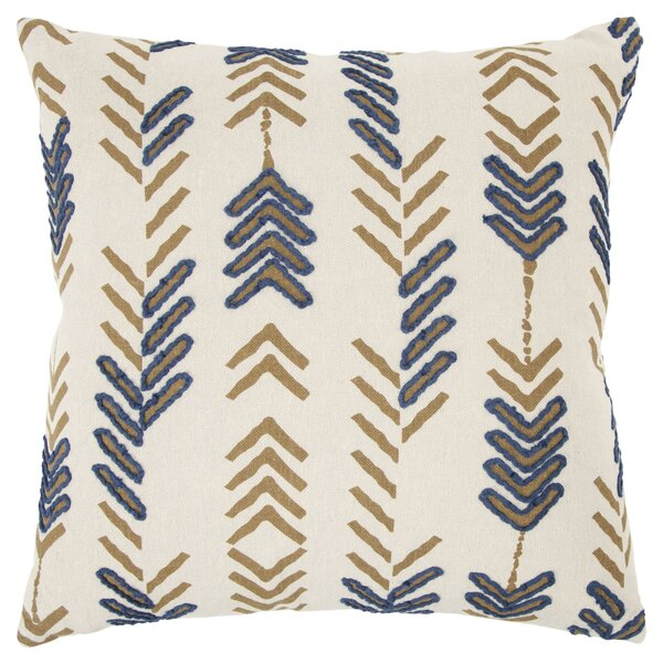 Poly Filled Cotton Throw Pillow by Donny Osmond Home