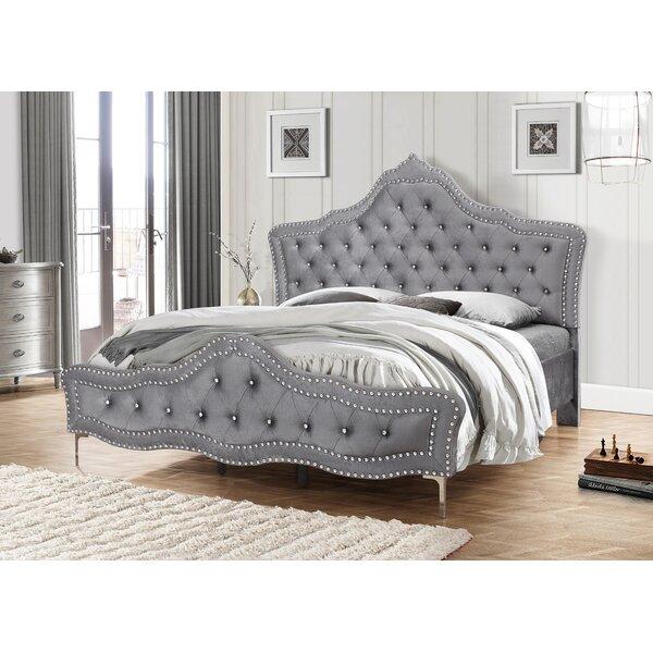 Pugh Upholstered Standard Bed by Rosdorf Park