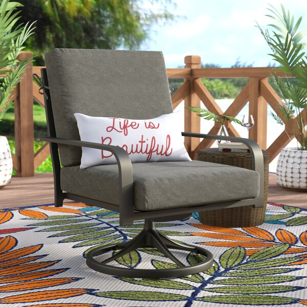 Indoor/Outdoor Sunbrella Lounge Chair Cushion by Beachcrest Home