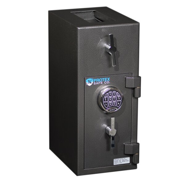 Rotary Hopper Commercial Depository Safe with Electronic Lock by Protex Safe Co.