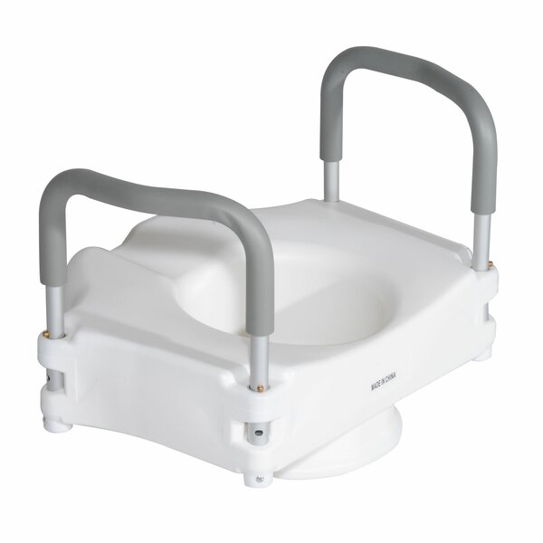 Medical Raised Toilet Seat Riser by HomCom