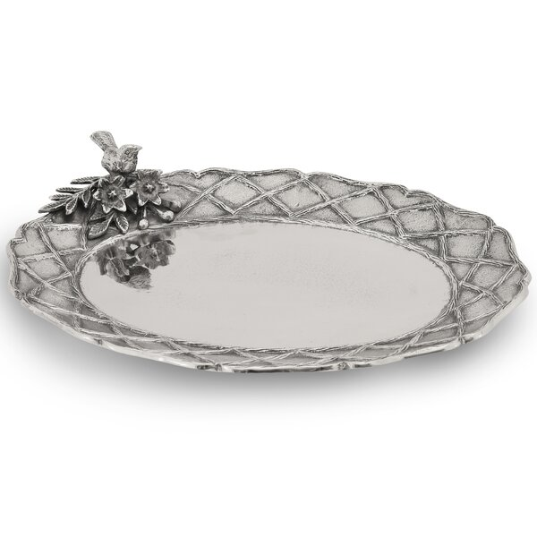 Trellis Oval Platter by Star Home