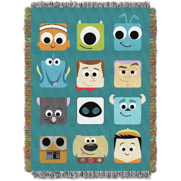 Disney Pixar - Pixarland Tapestry Throw by Northwest Co.