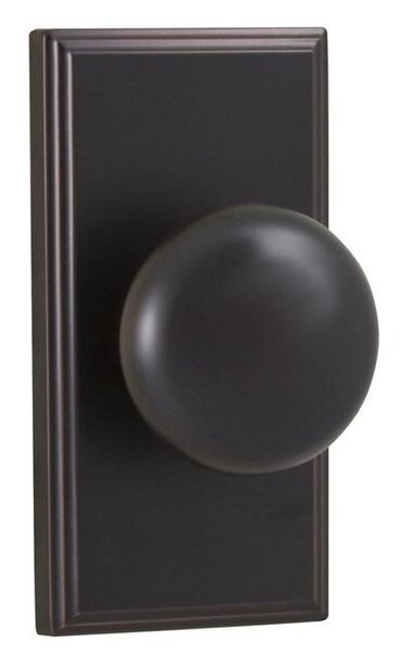 Impresa Privacy Door Knob by Weslock