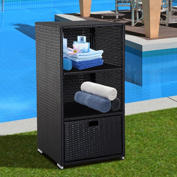 Outsunny 66 Gallon Metal Towel Valet by Outsunny Outsunny