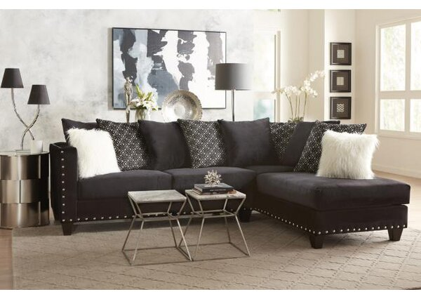 Cloutier Right Hand Facing Sectional By Mercer41