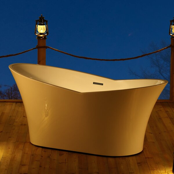 Dallas 67 x 32 Freestanding Soaking Bathtub by Jade Bath