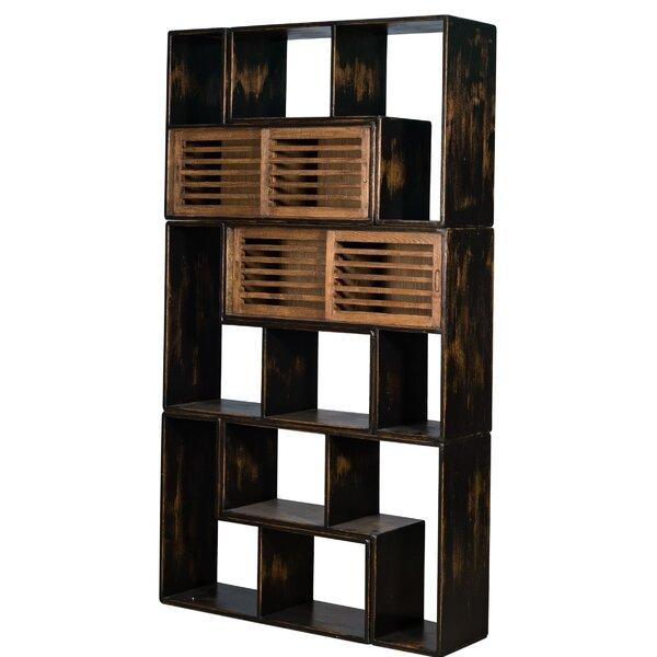 Mcdorman Functional Geometric Bookcase By Brayden Studio