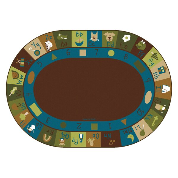 Learning Blocks Nature Kids Area Rug by Carpets for Kids