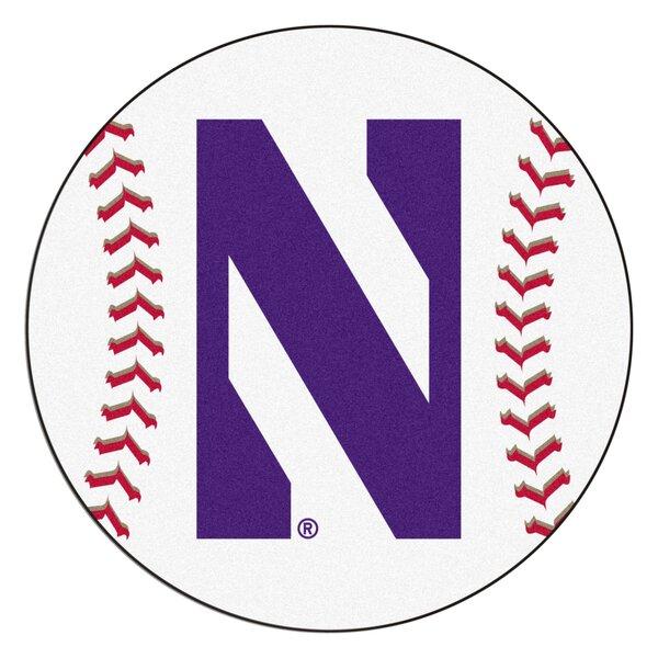 NCAA Northwestern University Baseball Mat by FANMATS