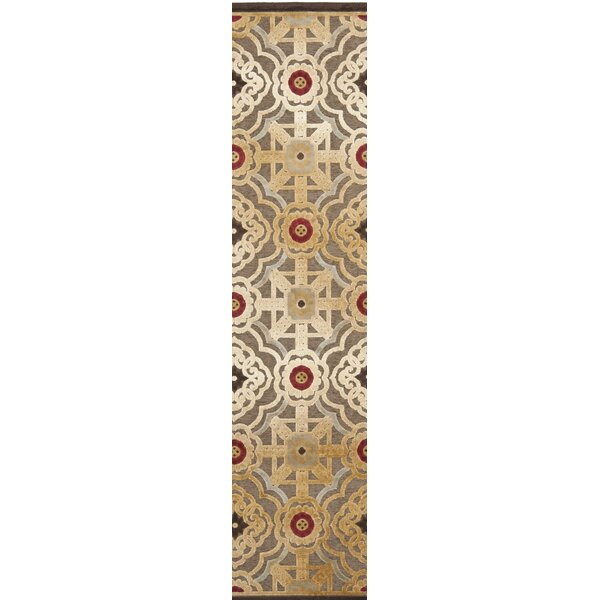 Imperial Palace Brown/Red Area Rug by Martha Stewart Rugs