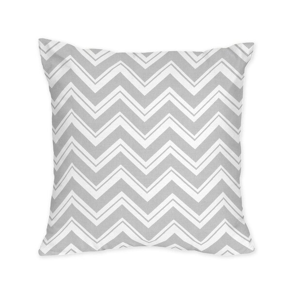 Zig Zag Decorative Pillow by Sweet Jojo Designs
