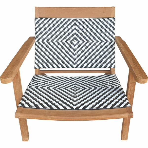 Siri Teak Patio Chair by Highland Dunes