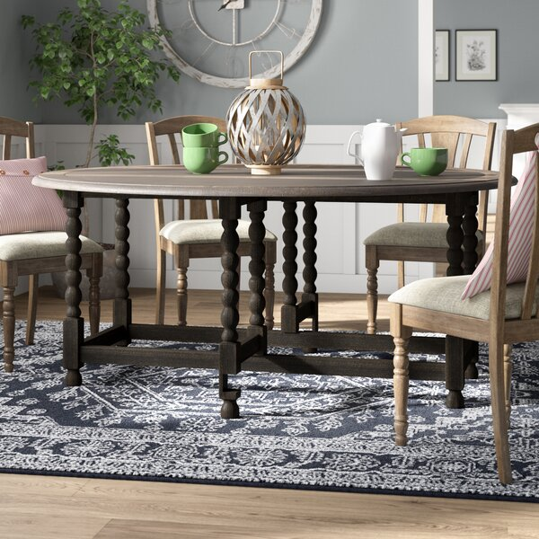 #1 Largent Drop Leaf Dining Table By Ophelia & Co. Sale