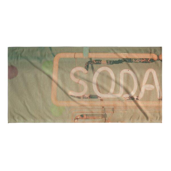 Soda Beach Towel by KAVKA DESIGNS