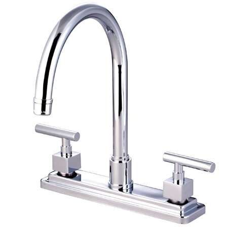 Rio Double Handle Kitchen Faucet by Elements of Design