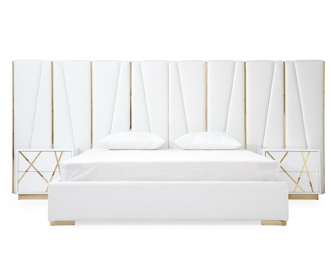 Foti King Platform Configurable Bedroom Set