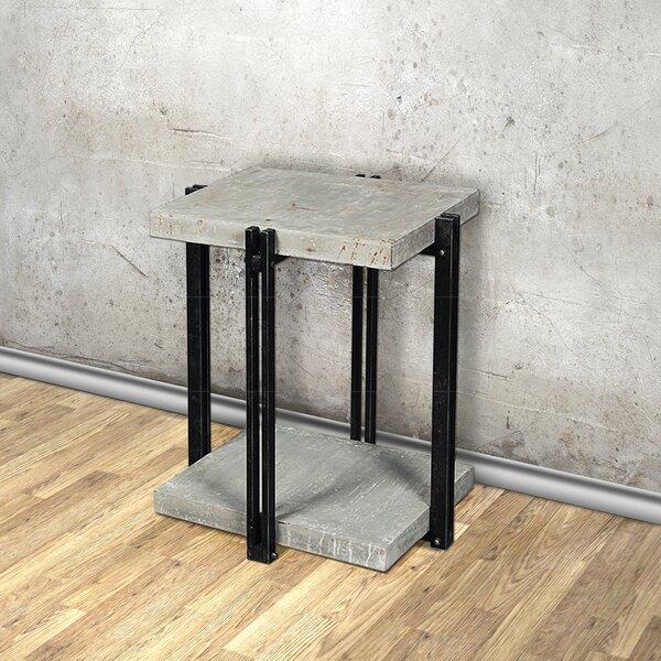 CalceFerro End Table by Empire Art Direct