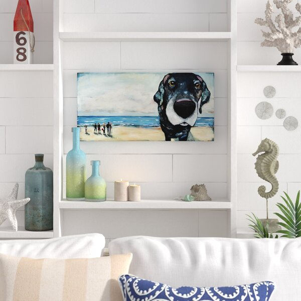Macdaddy Painting Print On Wrapped Canvas By Beachcrest Home.