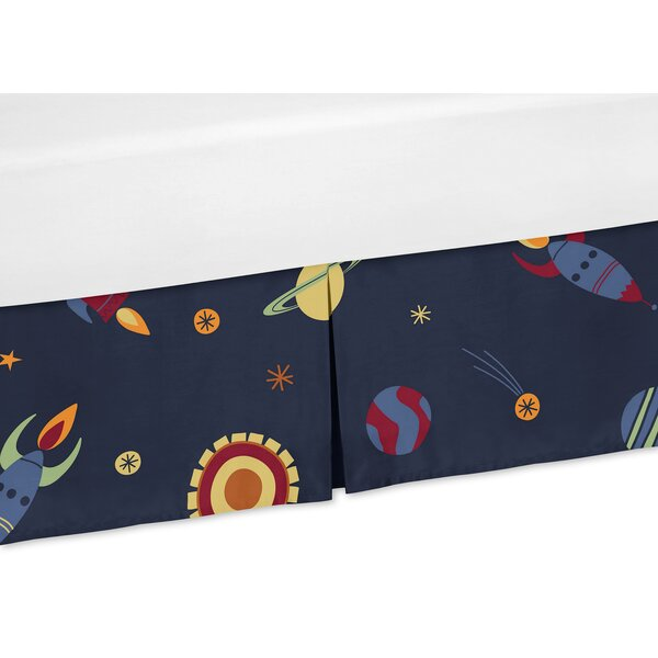 Space Galaxy Crib Skirt by Sweet Jojo Designs