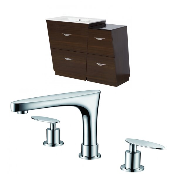 Dudelange 41 Single Bathroom Vanity Set