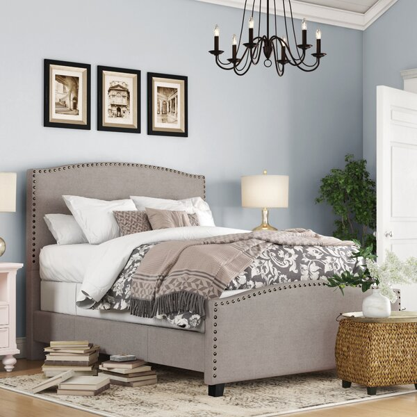 Harleigh Upholstered Standard Bed by Darby Home Co Darby Home Co