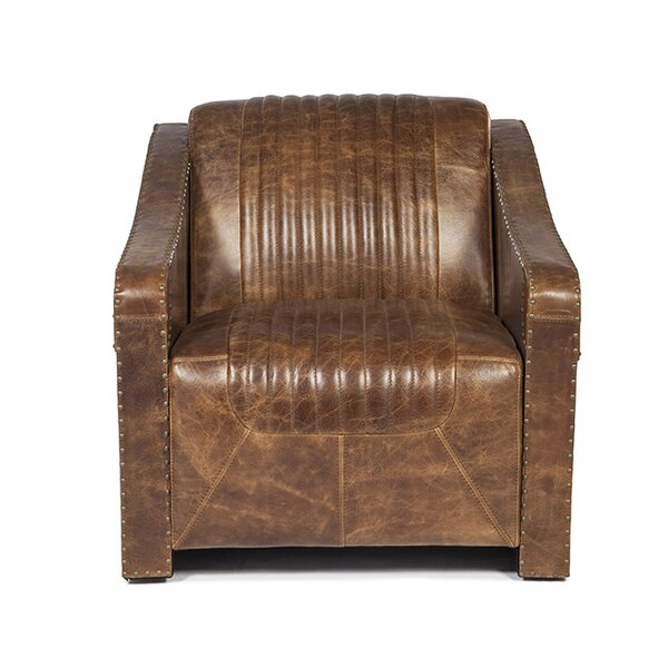 Kryptonite Club Chair by Lazzaro Leather