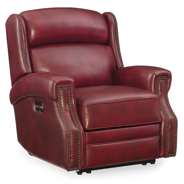 Skakli Leather Power Recliner with Power Headrest by Winston Porter Winston Porter