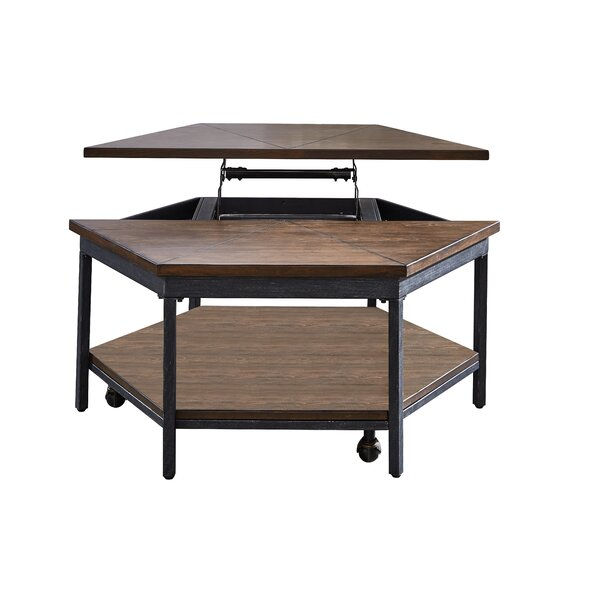 Peebles Lift Top Coffee Table by Williston Forge