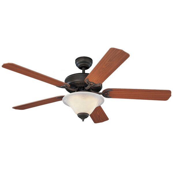 52 Beaton Modern 5 Blade Ceiling Fan with Light Kit by Fleur De Lis Living