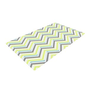 CarolLynn Tice Ideal Gray/Yellow Area Rug