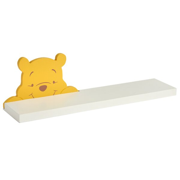 Pooh Floating Shelf by Disney