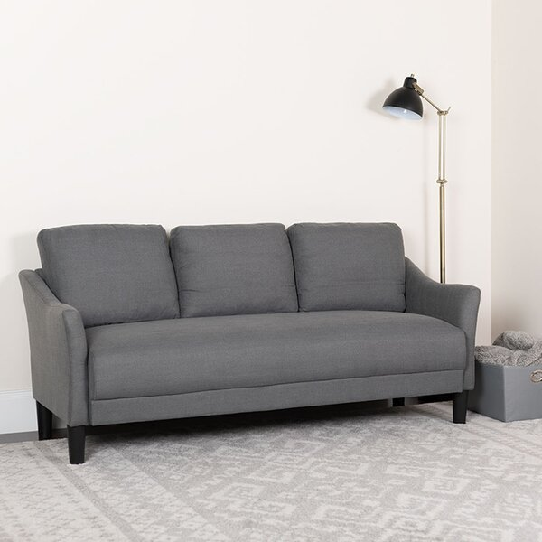 Clouser Upholstered Sofa by Ebern Designs