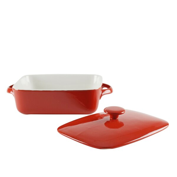 Sienna Rectangular Bakeware with Lid by Ten Strawberry Street