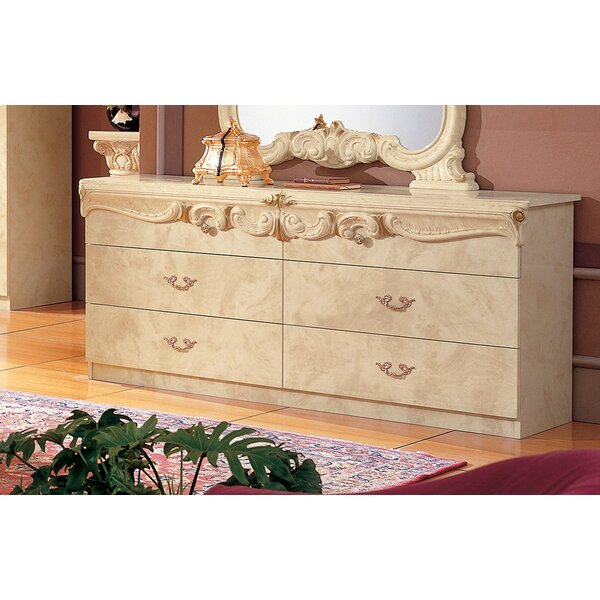 Straitson 6 Drawer Double Dresser by Astoria Grand