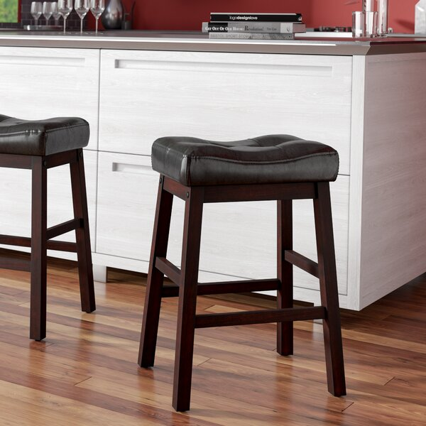 Goberd 24 Bar Stools (Set of 2) by Charlton Home