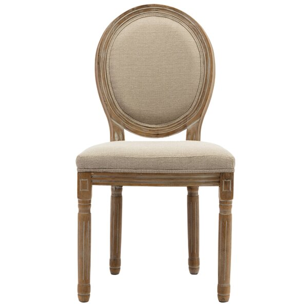 Mablethorpe Upholstered King Louis Back Side Chair (Set Of 2) By One Allium Way