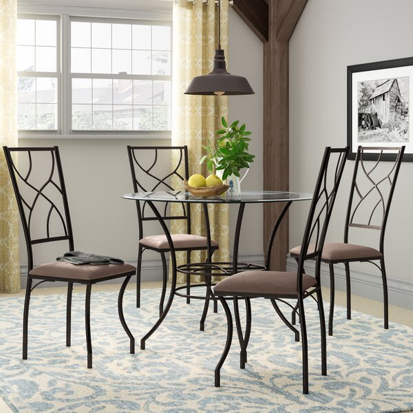 Suniga 5 Piece Dining Set by August Grove