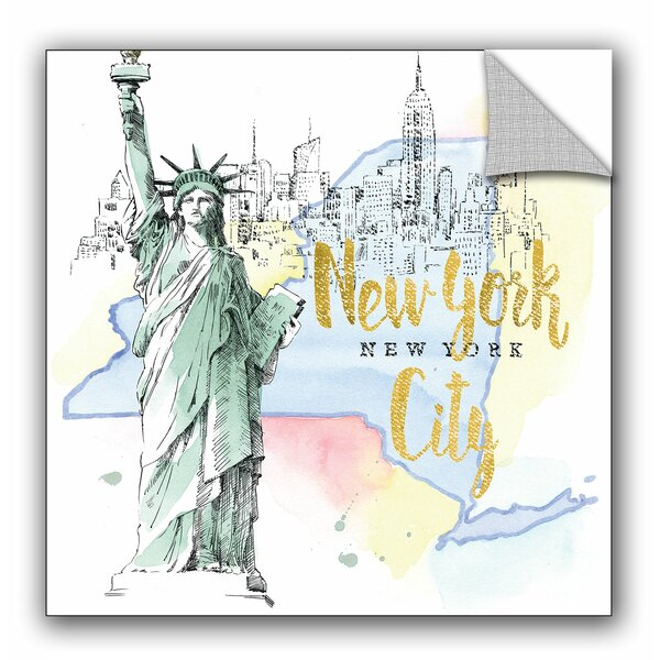 Beth Grove US Cities IV Wall Decal by ArtWall