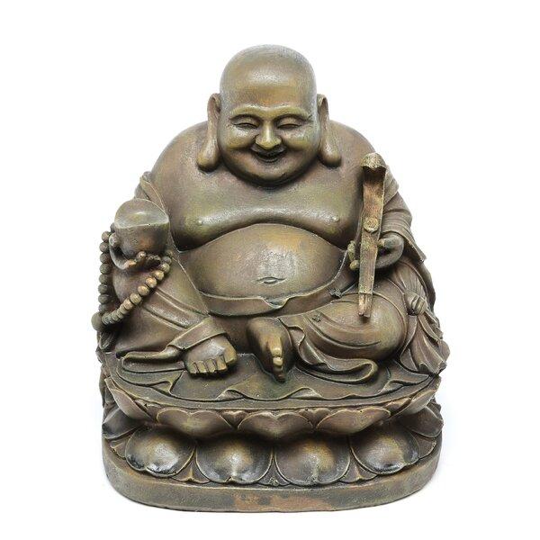 Alexzander Laughing Buddha Sanctuary Figurine by World Menagerie