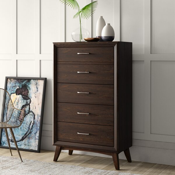 London 5 Drawer Chest by Mercury Row