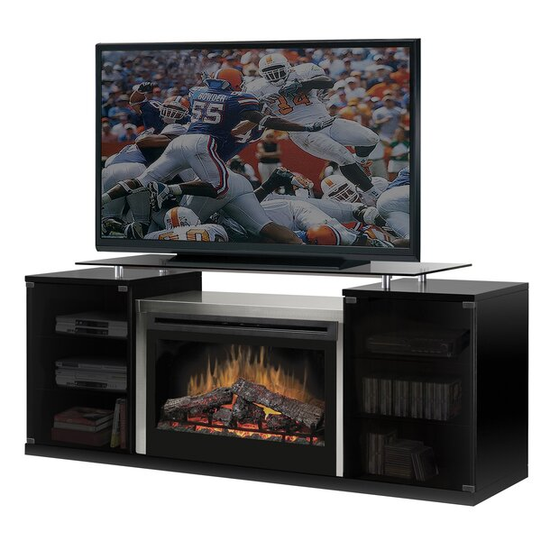 Marana 76 TV Stand with Fireplace by Dimplex