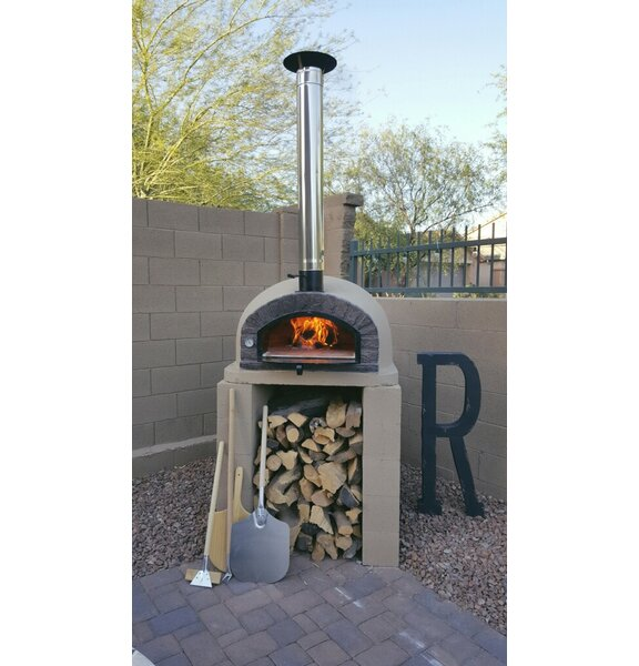 Traditional Brick Braza Wood Fire Oven by Authentic Pizza Ovens