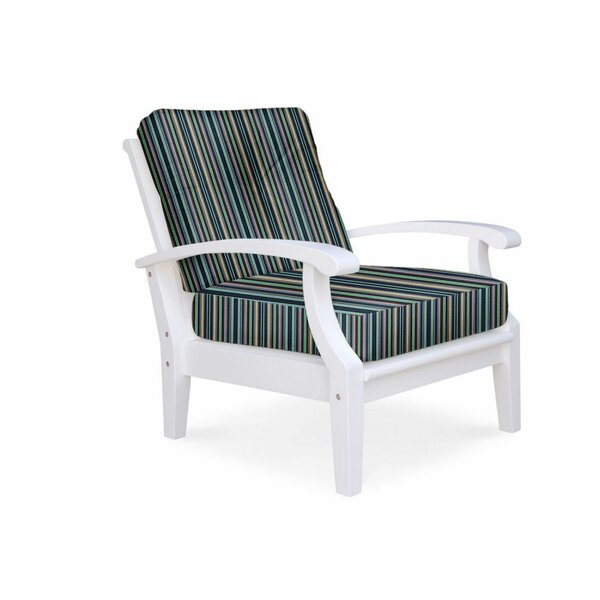 Lowery Deep Seating Patio Chair with Sunbrella Cushions by Rosecliff Heights Rosecliff Heights