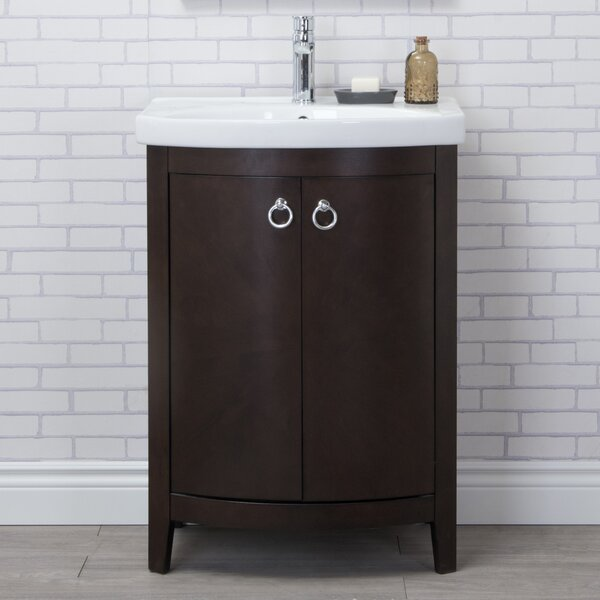 Wynkoop 25 Single Bathroom Vanity Set by Lark Manor