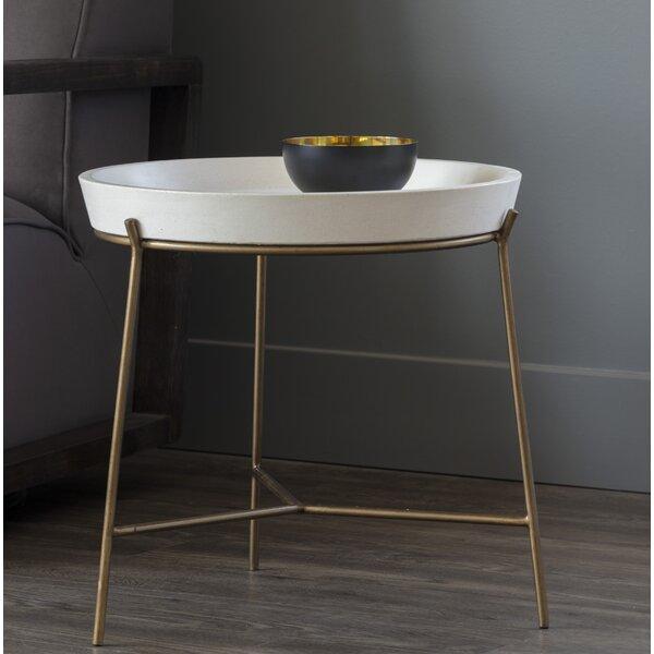 Remy Concrete Tray Table by Sunpan Modern