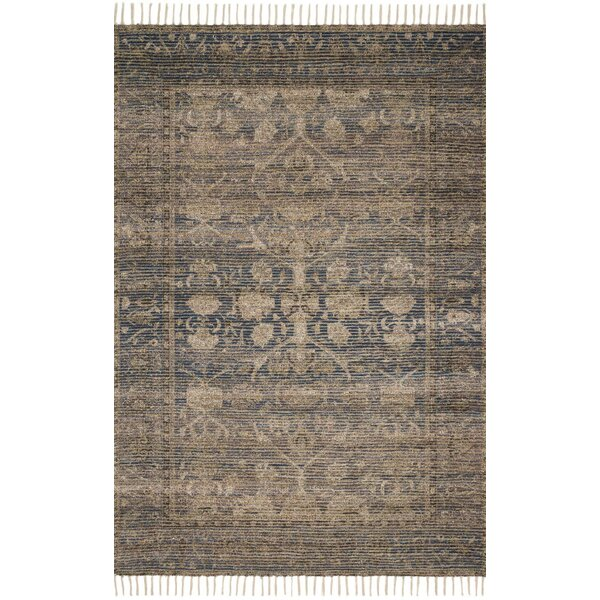 Cornelia Hand-Knotted Indigo/Natural Area Rug by Loloi x Justina Blakeney